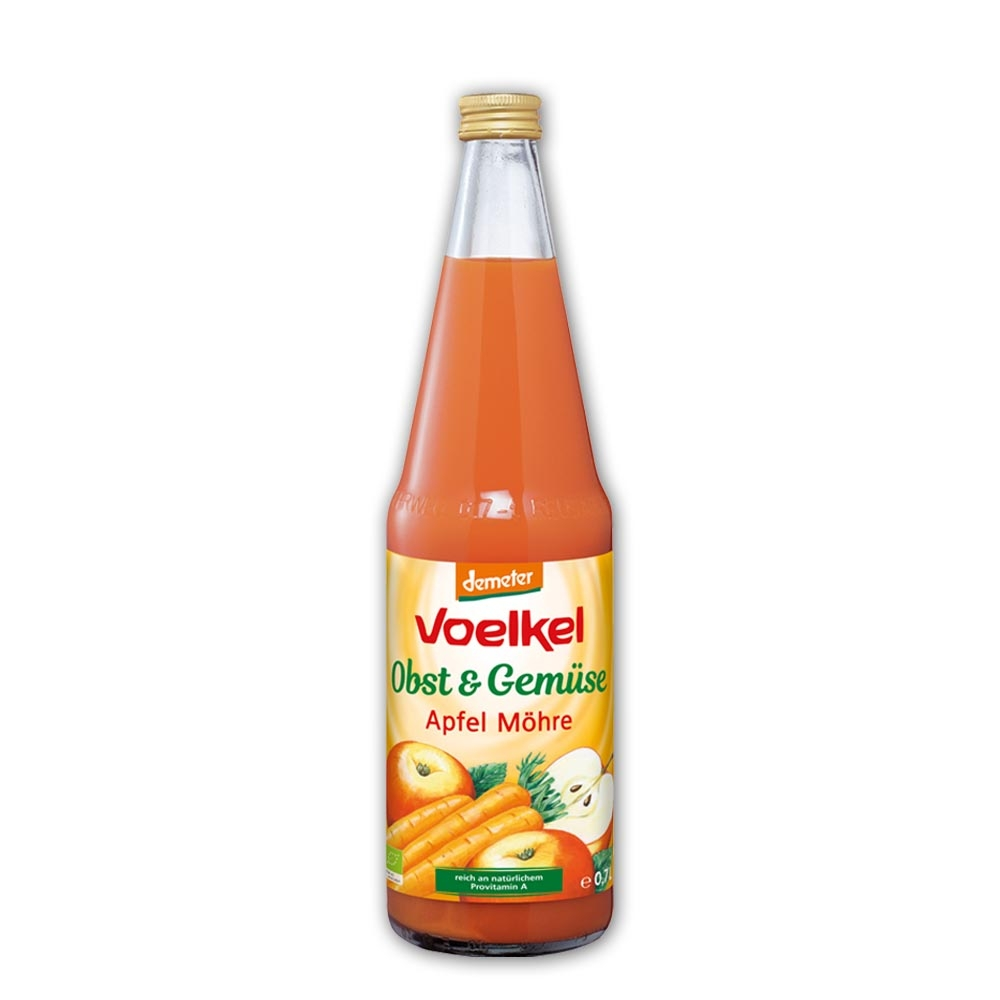 本頁圖片/檔案 - Voelkel Organic Apple Carrot Juice Demeter 700ml