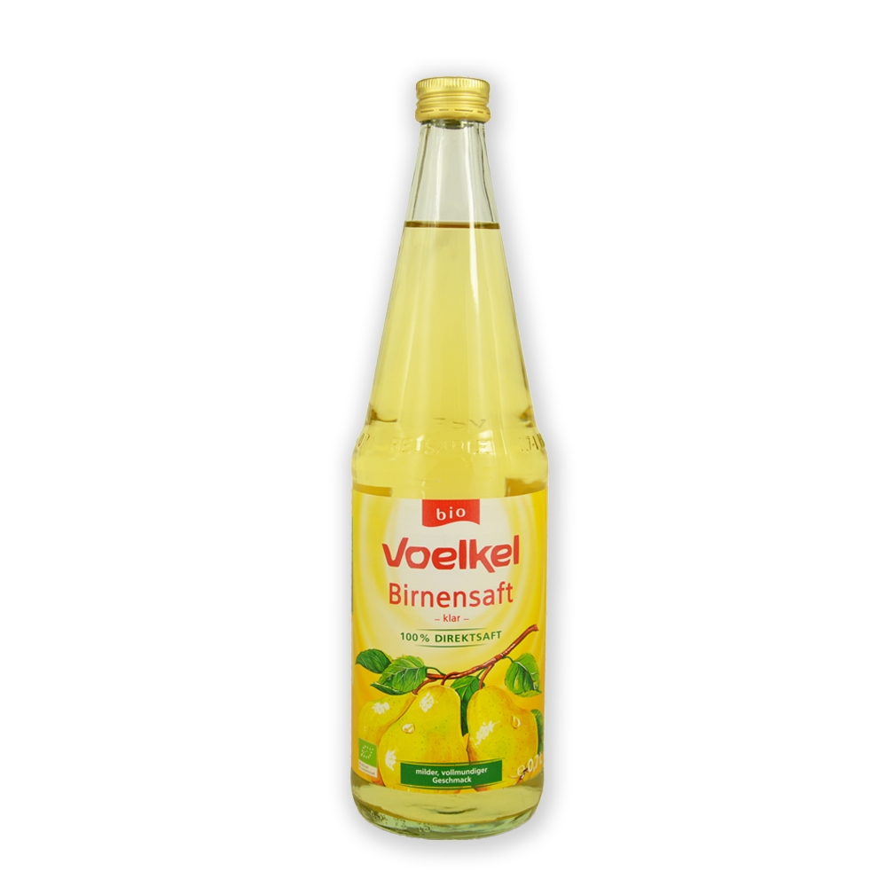 本頁圖片/檔案 - Voelkel Organic Pear Juice Bio 700ml